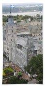 Parlament Quebec  Bath Towel