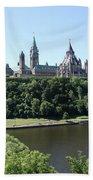 Parliament Hill - Ottawa Bath Towel