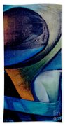 Part Of An Abstract Painting Bath Towel
