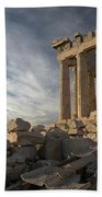 Parthenon From The South Bath Towel