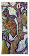 Partridge In A Pear Tree 1 Bath Towel