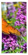 Passion Butterfly Bath Towel