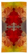 Passionate Explosions Of Colorful Reality By Omaste Witkowski Bath Towel