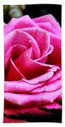 Passionate Rose Bath Towel