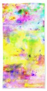 Pastel Abstract Patterns I Bath Towel