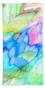 Pastel Abstract Patterns V Bath Towel