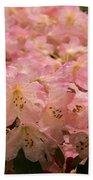 Pastel Coral Azaleas Refreshed By The Rains Bath Towel