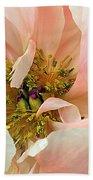 Pastel Floral Bath Towel