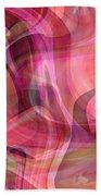Pastel Power- Abstract Art Bath Towel