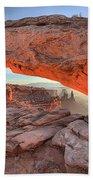 Pastels At Canyonlands Bath Towel