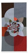 Patchwork Craze - Abstract - Triptych Bath Towel