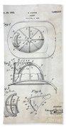 Patent - Fire Helmet Bath Towel