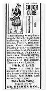 Patent Medicine, C1900 Bath Towel