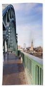 Path On Tyne Bridge Bath Towel