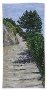 Path To L'eremo Sul Mare Bath Towel
