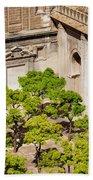 Patio De Los Naranjos Of Seville Cathedral Bath Towel