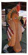Patriotic Hotdog Bath Towel