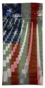 Patriotism Bath Towel