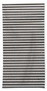 Pattern - Corrugated Metal Bath Towel
