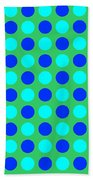 Pattern Of Circles Bath Towel
