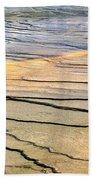 Patterns At Yellowstone #1 Bath Towel