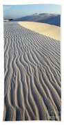 Patterns In The Sand Brazil Bath Towel