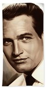 Paul Newman Artwork 1 Bath Towel