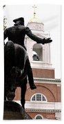 Paul Revere's Ride Bath Towel