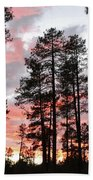 Payson Pines Sunset Bath Towel