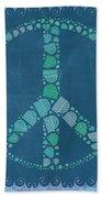 Peace Symbol Design - Tq19at02 Bath Towel