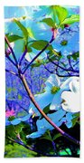 Peaceful Dogwood Spring Bath Towel