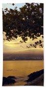 Peaceful Sundown On Hilo Bay - Hawaii Bath Towel