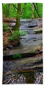 Peaceful Waterfall Bath Towel