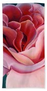 Peach Rose Hand Towel