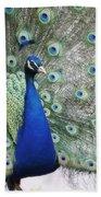 Peacock Fanning Bath Towel