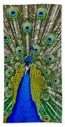 Peafowl Peacock Bath Towel