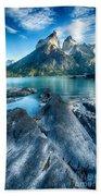 Peaks In Patagonia Bath Towel