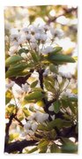 Pear Blossoms Bath Towel