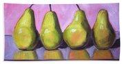 Pear Line Hand Towel