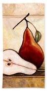 Pears Diptych Part Two Bath Towel