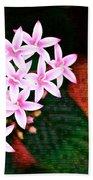 Pelargonium Graveolens II Hand Towel