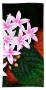 Pelargonium Graveolens II Bath Towel