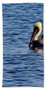 Pelican And Gull Bath Towel