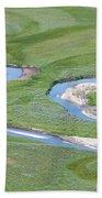 Pelican Valley Swirls Bath Towel