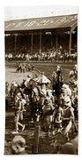 Pendleton Round-up Oregon Lewis Josselyn Photo Sept. 1929 Bath Towel