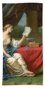 Penelope Reading A Letter From Odysseus Bath Towel