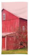 Pennsylvania Barn  Cira 1700 Bath Towel