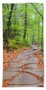 Pennsylvania Hiking Trail Bath Towel