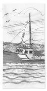 Peggy's Cove Lighthouse Nova Scotia Bath Towel