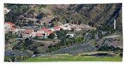 Pepperdine University On A Hill Hand Towel